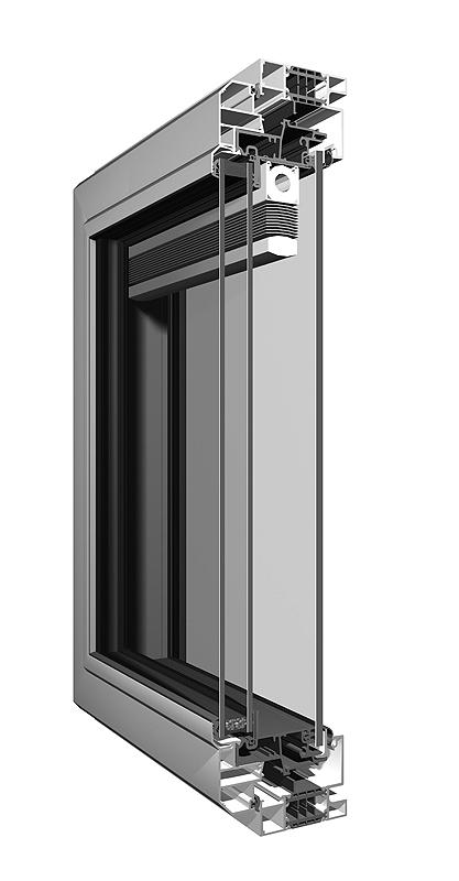 Air persiana veneciana ventanas y puertas aluminio k line ventanas k line - Ventana con persiana integrada ...